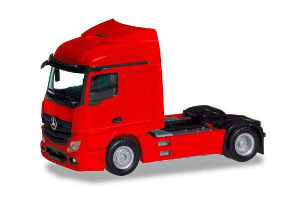 Herpa 309899 - Mercedes-Benz Actros Streamspace 2.3 Zugmaschine 2-achs, rot - 1:87