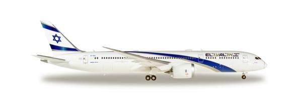 Herpa Wings 559249 - EL AL Boeing 787-9 Dreamliner - 4X-EDA - 1:200