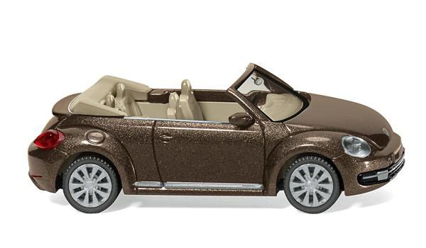 Wiking 002802 - VW The Beetle Cabrio - toffeebraun metallic - 1:87