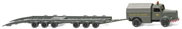 "Wiking 059003 - Straßenroller Culemeyer (MB L 3500) ""DB"" - 1:87"