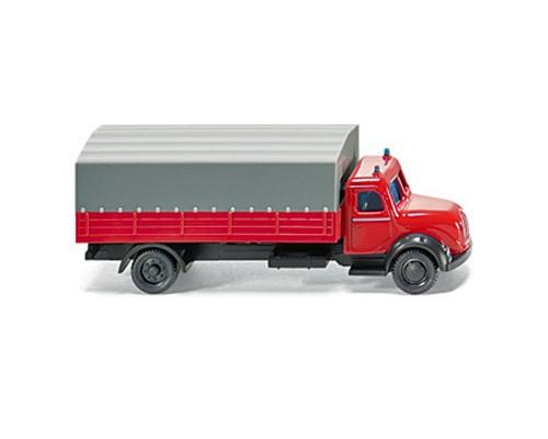 Wiking 096501 - Feuerwehr-Pritschen LKW Magirus - N