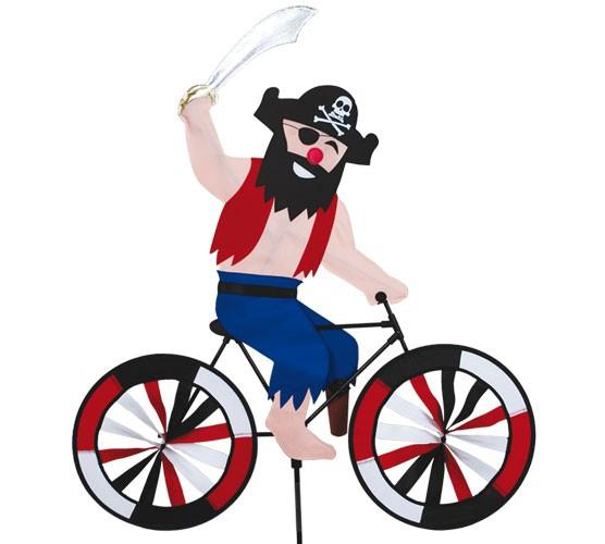 Premier Kites - Windspiel Fahrrad Pirat / Pirate Biker - 30 cm x 62 cm x 90 cm