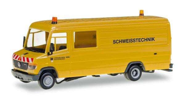 "Herpa 093125 - Mercedes-Benz Vario Kasten ""Leonhard Weiss Schweisstechnik"" - 1:87"