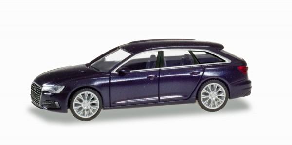 Herpa 430647-002 - Audi A6 Avant, firmamentblau metallic - 1:87