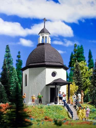 Vollmer 47612 - Stille-Nacht-Kapelle mit CD - N (7612)
