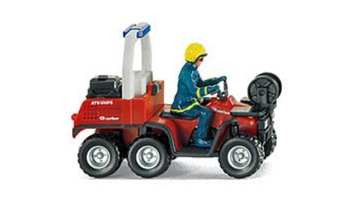 Wiking 060007 - Feuerwehr - ATV Rosenbauer - H0