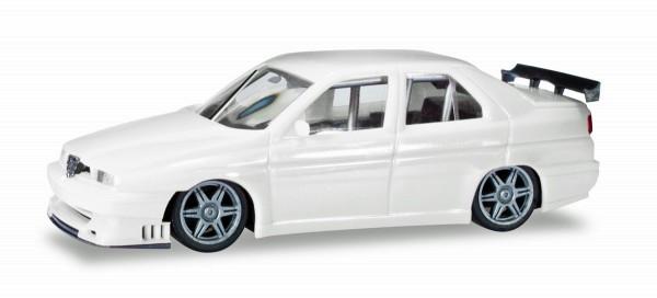 Herpa 420327 - Alfa Romeo 155 Rennsport, weiß - 1:87