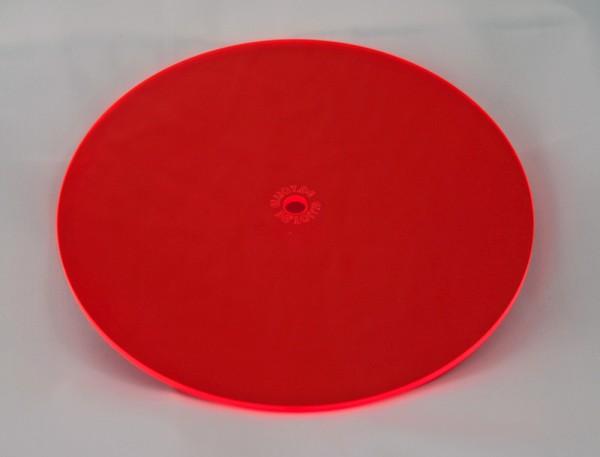Lichtzauber Sonnenfänger - Scheibe mittel, Ø 15 cm, rot (Elliot 1019013)