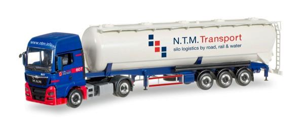 """Herpa 305471 - MAN TGX XXL Silo-Sattelzug """"NTM"""" (NL) - 1:87"""