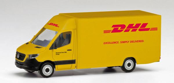 """Herpa 095297 - Mercedes-Benz Sprinter `18 Paketverteilerfahrzeug """"DHL"""" - 1:87"""
