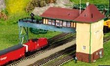 Kibri 37811 (7811) - Brückenstellwerk Krefeld - Bausatz - N