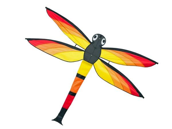 Invento-HQ Einleiner Dragonfly Kite - Libelle (140 x 110 cm) - R2F
