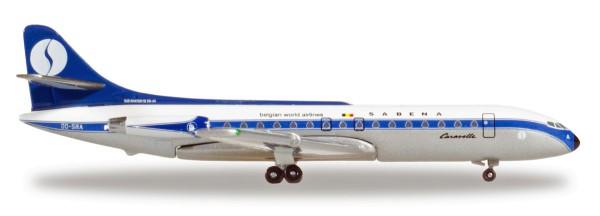 Herpa Wings 531672 - Sabena Sud Aviation Caravelle - OO-SRA - 1:500