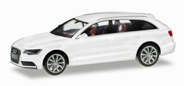 Herpa 034883-004 - Audi A6 Avant, gletscherweiß metallic - 1:87