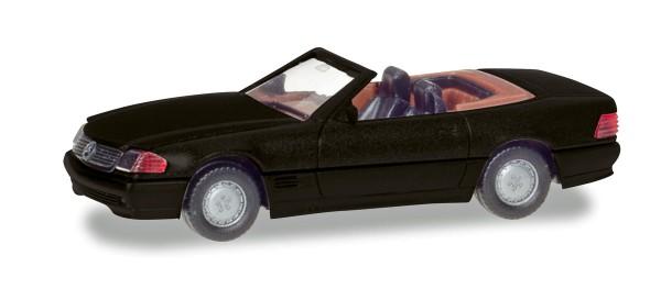 Herpa 038850 - Mercedes-Benz 500 SL (R129), schwarz metallic - 1:87