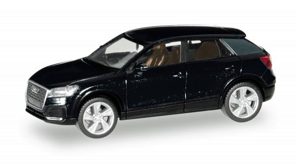 Herpa 038676-003 - Audi Q2, mythosschwarz metallic - 1:87
