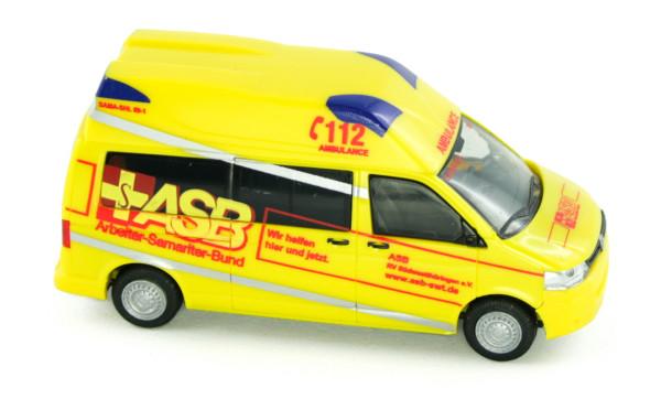 Rietze 53641 - Ambulanz Mobile Hornis Silver ASB RV Südwestthüringen - 1:87