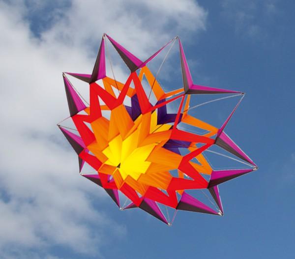 Colours in Motion - Einleiner Lotus Hot - Ø 155 x 65 cm