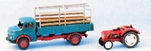 Marks 1388 - MB 911 mit Hanomag Export - N