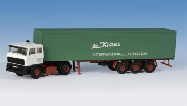 Kibri 14646 - DAF FT 2800 DFS mit Koffersattelauflieger - H0