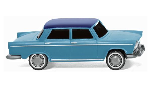 Wiking 009003 - Fiat 1800 - pastellblau mit nachtblauem Dach - 1:87