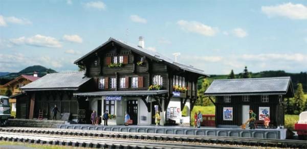 Kibri 39370 (9370) - Bahnhof Oberried (CH) - H0