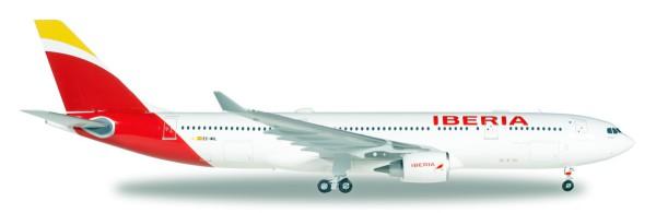 """Herpa Wings 558624 - Iberia Airbus A330-200 """"Madrid, Heart of Spain"""" - EC-MIL """"Oaxaca"""" - 1:200"""
