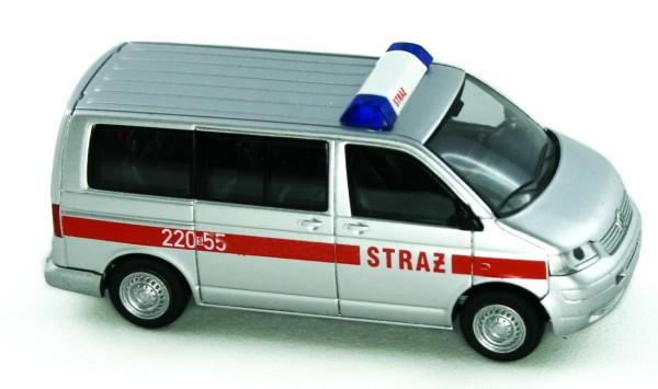 Rietze 51878 - VW T5 Bus KR FD Straz (PL) - 1:87