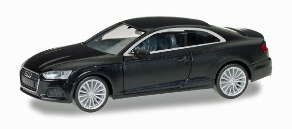 Herpa 028660 - Audi A5 ® Coupé, brillantschwarz - 1:87