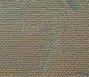 Kibri 36912 (6912) - Mauerplatte unregelmäßig Abdecksteine - Fläche: 150 cm² - N / Z