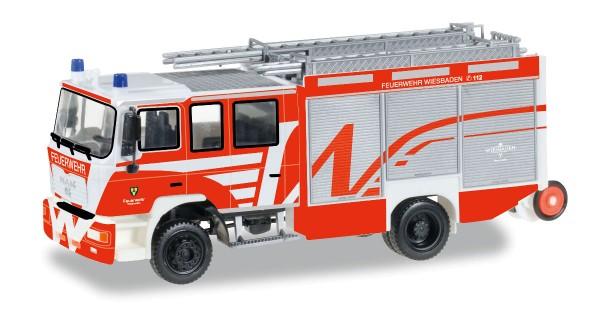 """Herpa 092494 - MAN M 2000 Löschfahrzeug """"Feuerwehr Wiesbaden"""" - 1:87"""