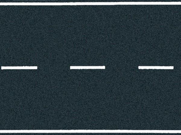 NOCH 60706 - Landstraße, Asphalt, 100 x 6,6 cm - H0