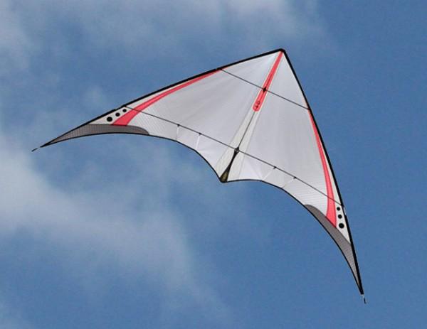 Prism 4D rot - Leichtwind-Lenkdrachen (Spannweite: 147,3 cm) - R2F