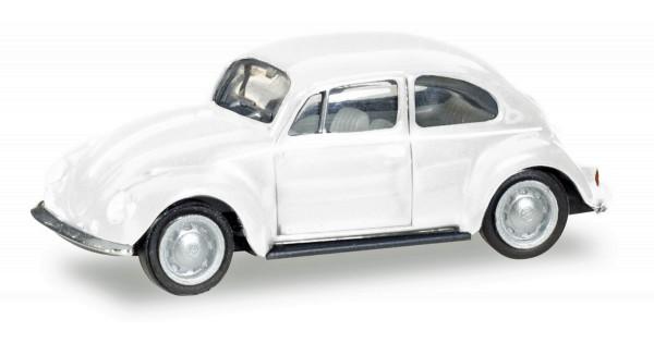 Herpa 013253 - Herpa MiniKit: VW Käfer, weiß - 1:87