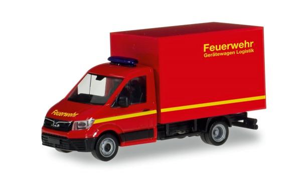 """Herpa 094320 - MAN TGE Koffer-LKW """"Feuerwehr"""" - 1:87"""