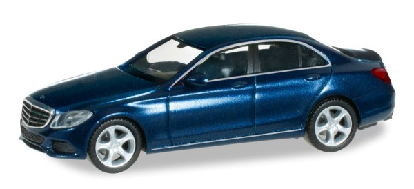 Herpa 038362 - Mercedes-Benz C-Klasse Exclusive, cavansitblau Metallic - 1:87