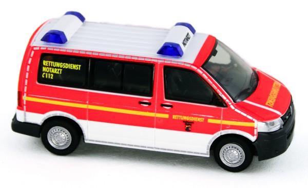 Rietze 53444 - Volkswagen T5 ´10 Rettungsdienst BF Flensburg - 1:87