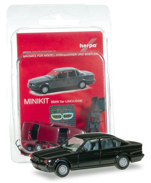 Herpa 012201-005 - Herpa MiniKit: BMW 5er Limousine, schwarz - 1:87