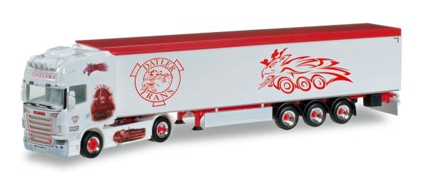 """Herpa 305808 - Scania R 04 Schubboden-Sattelzug """"Datler"""" (A) - 1:87"""
