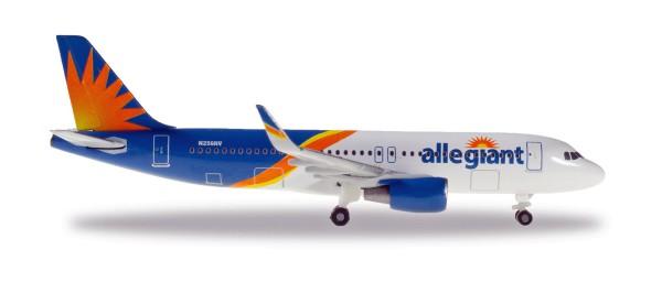 Herpa Wings 533140 - Allegiant Air Airbus A320 - N256NV - 1:500
