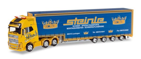 """Herpa 305464 - Volvo FH Gl. XL Volumen-Sattelzug """"Steinle"""" - 1:87"""