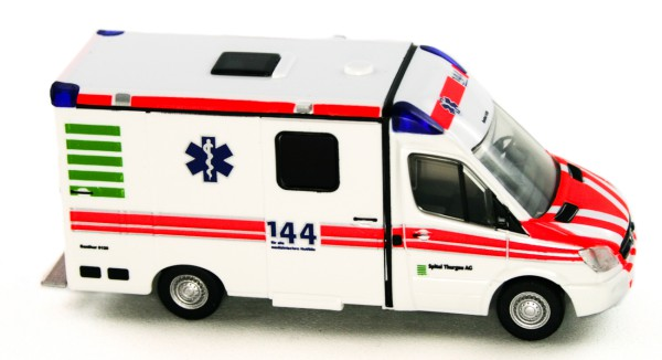 Rietze 61738 - RTW Strobel Spital Thurgau (CH) - 1:87