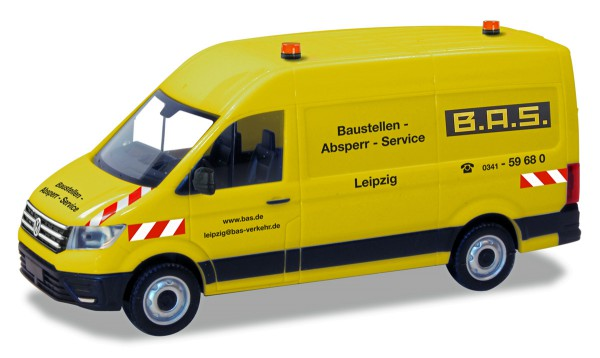 "Herpa 094771 - VW Crafter Kasten HD ""B.A.S"" - 1:87"
