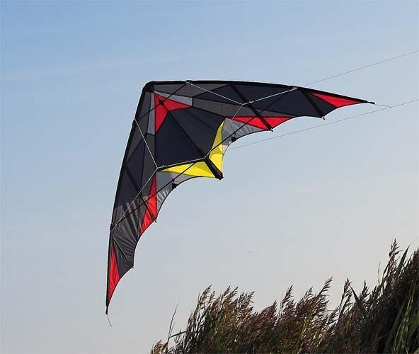 Invento-HQ Lenkdrachen Batkite (200 x 65 cm)