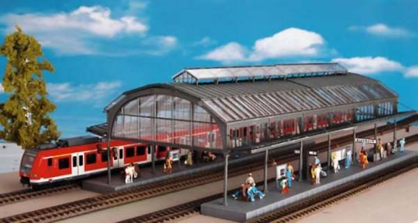 Kibri 39568 (9568) - Bahnsteighalle Kienbach - H0