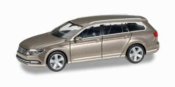 herpa 038423-002 - VW Passat Variant, sand gold metallic - 1:87