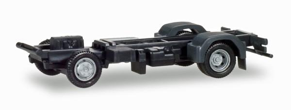 Herpa 084932 - Fahrgestell Mercedes-Benz Atego 3-Seiten Kipper Inhalt: 2 Stück - 1:87
