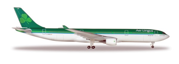 """Herpa Wings 531818 - Aer Lingus Airbus A330-300 – EI-FNH """"Laurence O' Toole / Lorcan Ó Tuathail"""" - 1"""