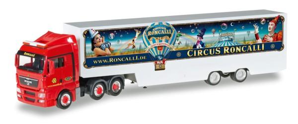 "Herpa 306744 - MAN TGX XLX Koffer-Sattelzug ""Circus Roncalli"" - 1:87"