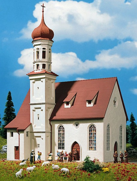 Vollmer 43709 - Kirche St. Andrä - H0 (3709)